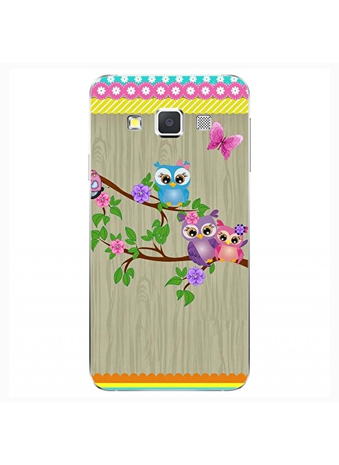 People's Cover Samsung A3 Kabartmalı Telefon Kılıfı Renkli